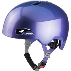 Alpina Hackney Casque Enfant, flip flop purple